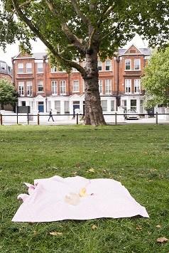 Breastfeeding cover up nursing apron scarf poncho shawl - Pink stars - Baby blanket